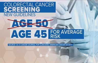 New Colon Cancer Screening Starting Age Brian Cooley Md